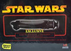 Darth Sidious Scale Lightsaber - Episode III (Best Buy Exclusive)