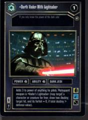 Darth Vader with Lightsaber (Foil)