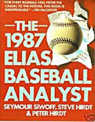 1987 Elias Baseball Analyst, The