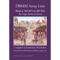 DBMM Army Lists #4 - 1071 to 1515 AD