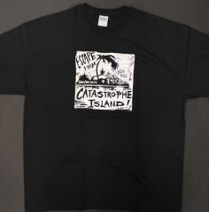 Escape from Catastrophe Island T-Shirt (XL) (GenCon Exclusive)