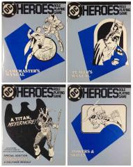 DC Heroes (1st Edition) - Books Only!