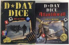 D-Day Dice Collection - Base Game + 4 Expansions!