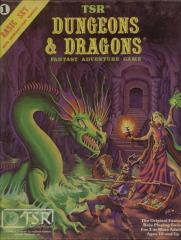 Dungeons & Dragons - Basic Set (8th-11th Printings, Pink Box w/B2)