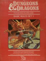 Dungeons & Dragons - Basic Set (12th-14th Printings, Red Box)