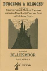 Supplement #2 - Blackmoor