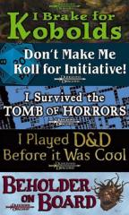 Don't Make Me Roll for Initiative!