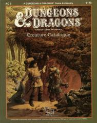 Creature Catalog (1st Edition)
