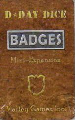 D-Day Dice - Badges (Kickstarter Exclusive)