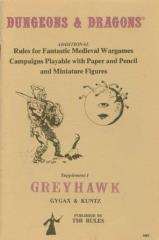 Supplement #1 - Greyhawk