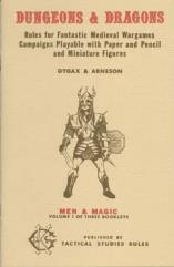 Dungeons & Dragons Volume #1 - Men & Magic