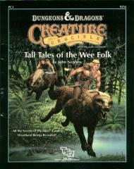 Creature Crucible #1 - Tall Tales of the Wee Folk