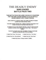 The Deadly Enemy - Nam Leader Battle Pack 2
