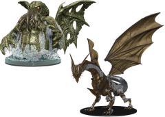 Deadly Foes - Clockwork Dragon & Spawn of Cthuhlu