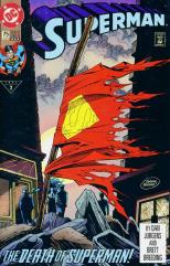 "#75 ""The Death of Superman!"""