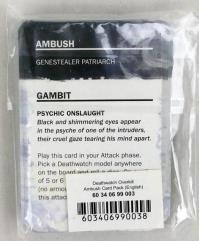 Deathwatch - Overkill, Ambush Card Pack
