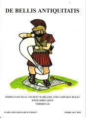 De Bellis Antiquitatis - Wargames Rules for Ancient and Medieval Battles (Version 3.0, 2001 Edition)