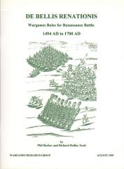 De Bellis Renationis - Wargames Rules for Renaissance Battles 1494-1700 (Version 1.0)