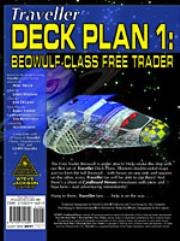 Deck Plans #1 - Beowulf Class Free Trader