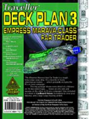 Deck Plans #3 - Empress Marva-Class Far Trader