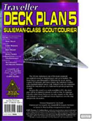 Deck Plans #5 - Sulieman-Class Scout/Courier