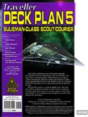 Deck Plans #5 - Sulieman-Class Scout/Courier