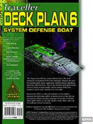 Deck Plans #6 - Dragon-Class System Defense Boat
