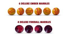 Fireball Island - Deluxe Marbles