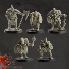 Demons Warriors Set #1