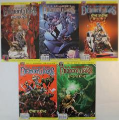 Demon Wars - Eye for an Eye Comic Collection - Complete Series #1-5!