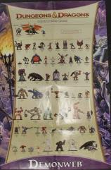 Demonweb Checklist Poster w/The High Road Battlemat