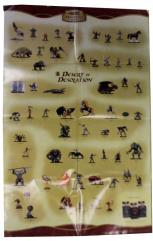 Desert of Desolation Checklist Poster w/Battle Map