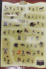 Desert of Desolation Checklist Poster w/Blue Dragon Lair Battlemat
