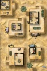 Mighty Maps - Vigilante's Lair/Desert Village (East)