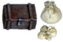 Assorted Sacks and Chest