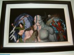 "TSR/WOTC Diablo - 14"" x 22"" Original Painting"