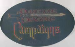 D&D Campaigns Window Cling