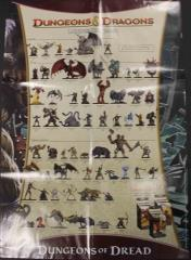 Dungeons of Dread Checklist Poster & Battlemat