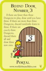 Munchkin Cthulhu - Behind Door Number 3