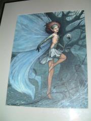 "Fairy - 9"" x 12"" Original Painting"