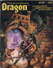 "#65 ""Monsters of the Midway Game, New Dragons, Celtic Mythos"""