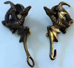 Dragon Cloak Clasps