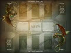 Draco Magi Playmat