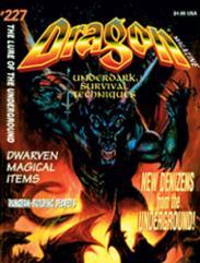 """#227 """"Underdark Survival Techniques, Dwarven Magical Items"""""""