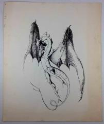 Shadowrun Dragon Concept Sketch