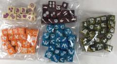 Dragon Dice Collection - Over 100 Dice!