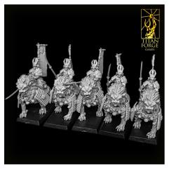 Komainu Spearman Cavalry