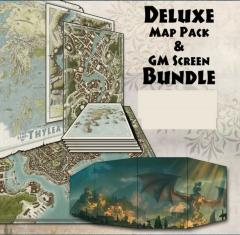 Odyssey of the Dragonlords Map Pack & GM Screen Bundle