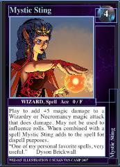 Dragon Storm Card Set #9 - Wizard