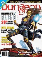 """#92 """"Nature's Revenge - 20th Level, Spelljammer d20, Spelljammer Ship Tokens"""""""